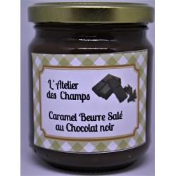 Caramel beurre salé au chocolat noir 200 g